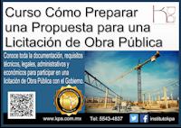 propuestas para licitacion,compranet 5.0,como preparar propuestas para una licitación,obra pública