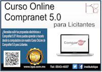 compranet 5.0,curso de compranet 5.0,licitantes,licitaciones electrónicas,compranet,subastas