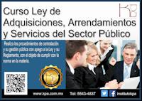 laassp,adquisciones,ley de adquisciones,curso ley de adquisiciones,obra pública,compras a gobierno